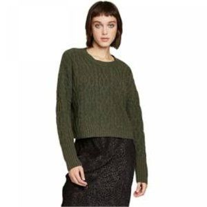 Wild Fable Olive Green Crewneck Sweater Sz L NWT